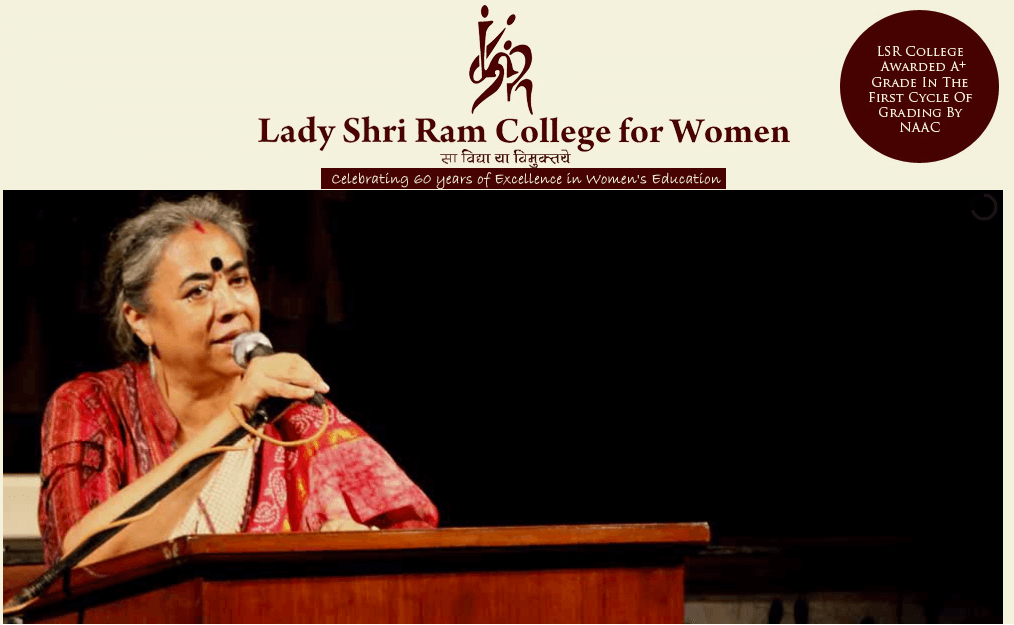 lady shri ram college for women LSR