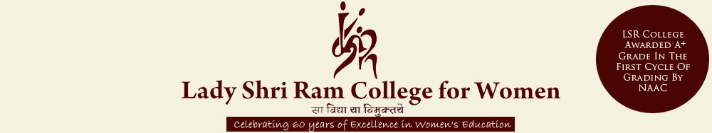 lady shri ram college for women logo LSR